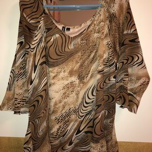 Women's Essentials By Milano Blouse Size XL